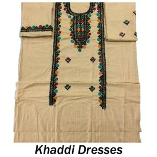 Khaddi Dresses Embroidered