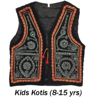 Kids Kotis/WaistCoats (Ages 8 to 15yrs)