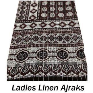 Ladies Linen Ajraks