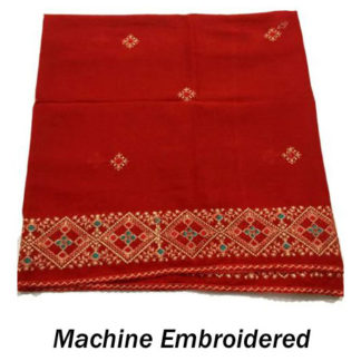 Machine Embroidered Sindhi Chadar/Shawl