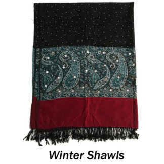 Winter Shawls