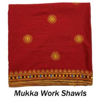 Mukka Work Shawls