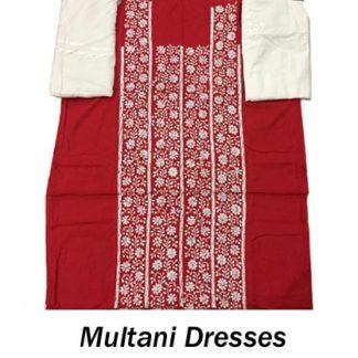 Multani Embdroidery Dresses