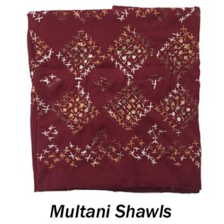 Handmade Multani Shawls