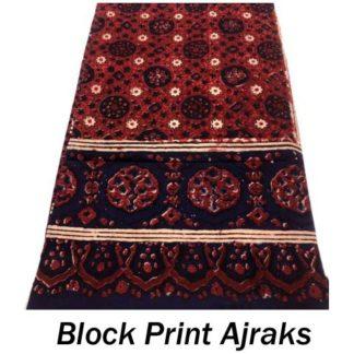 Block Print Ajraks
