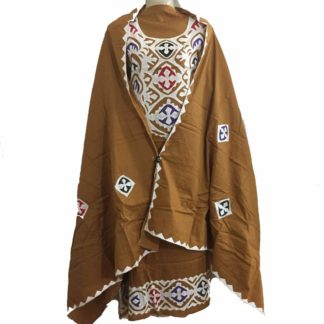 pakistani applique dress