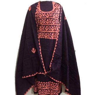 sindhi applique dress