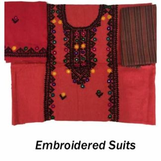 Embroidered Suits