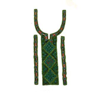 sindhi neck green