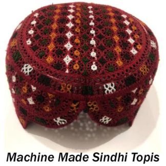 Machine Made Sindhi Topis