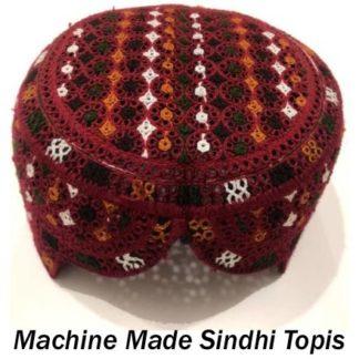 Machine Made Sindhi Topis